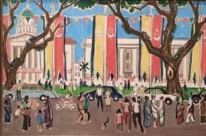 National Day by Liu Kang (1967) - National Art Gallery